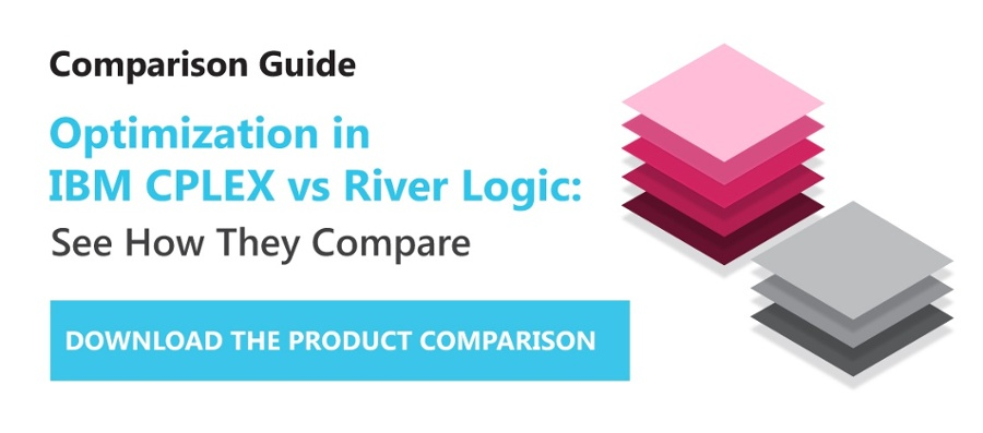 Optimization in IBM vs River Logic